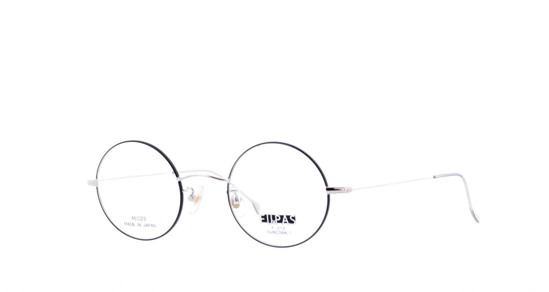 フーパス F-070-C-7-45 [メタル/日本製・鯖江産/丸メガネ]  1