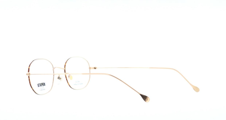 フーパス F-072-C-6-48 [メタル/鯖江産/ウェリントン/ゴールド]  3