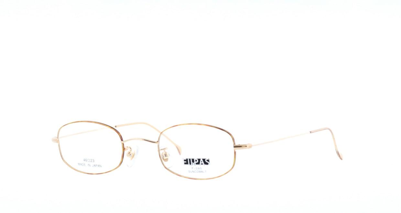 フーパス F-095-C-6-48 [メタル/鯖江産/スクエア/ゴールド]  1
