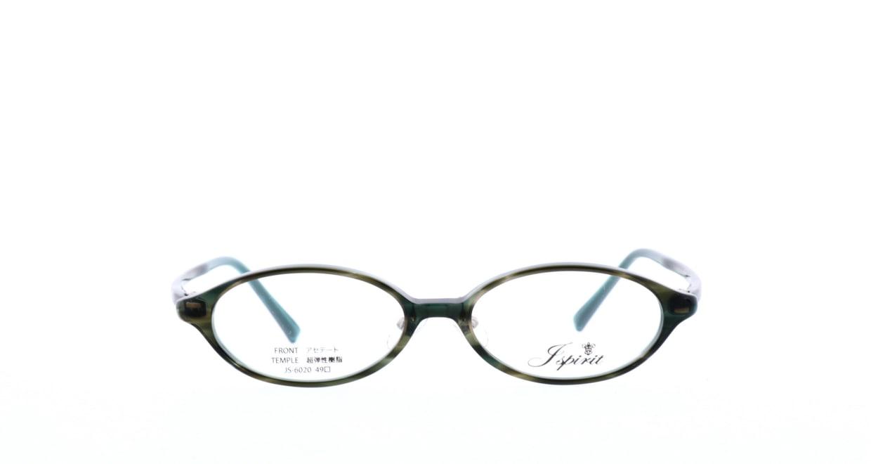 ジェイスピリット JS-6020-7-49 [鯖江産/オーバル/緑]