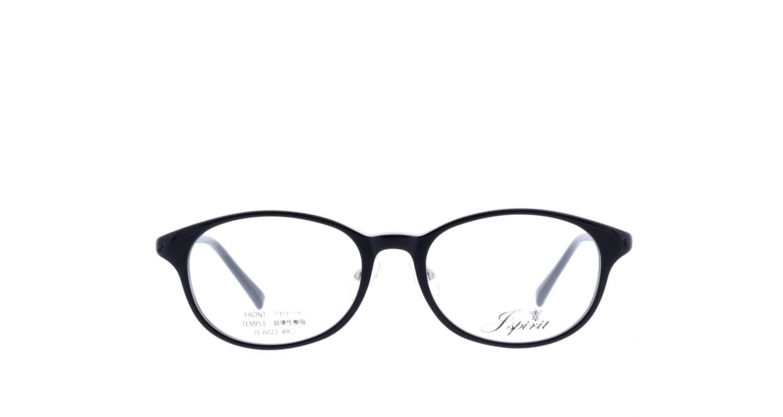 ジェイスピリット JS-6022-19-49 [黒縁/鯖江産/丸メガネ]