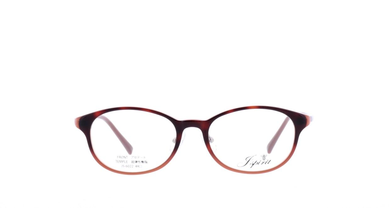 ジェイスピリット JS-6022-26-49 [鯖江産/丸メガネ/茶色]
