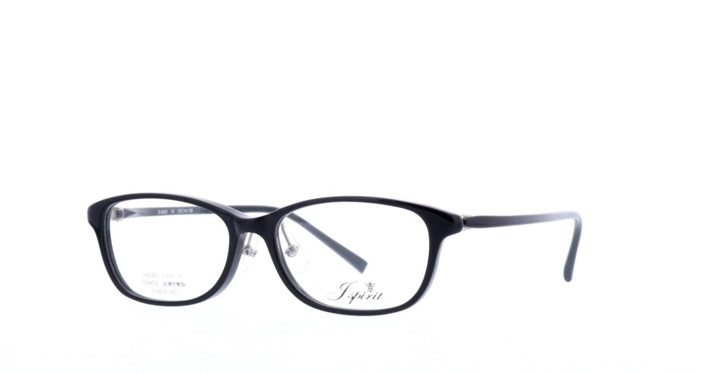 ジェイスピリット JS-6023-19-53 [黒縁/鯖江産/スクエア]  1