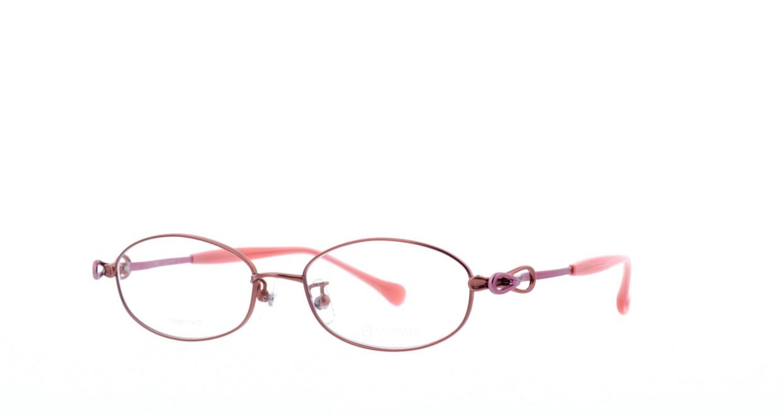 アミパリ TS-8011-3-51 [メタル/鯖江産/オーバル/赤]  1