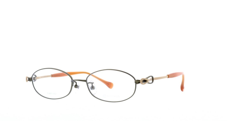 アミパリ TS-8011-17-51 [メタル/鯖江産/オーバル/緑]  1