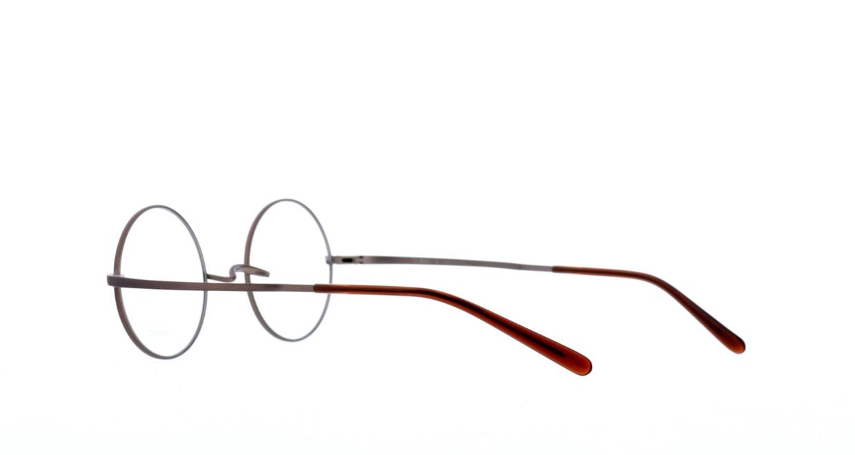 アミパリ TS-8045-4-44 [メタル/鯖江産/丸メガネ/茶色]  3