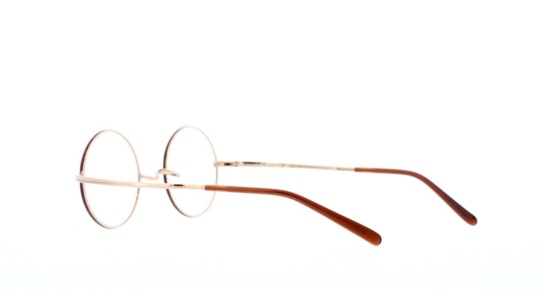 アミパリ TS-8046-61-44 [メタル/鯖江産/丸メガネ/べっ甲柄]  3