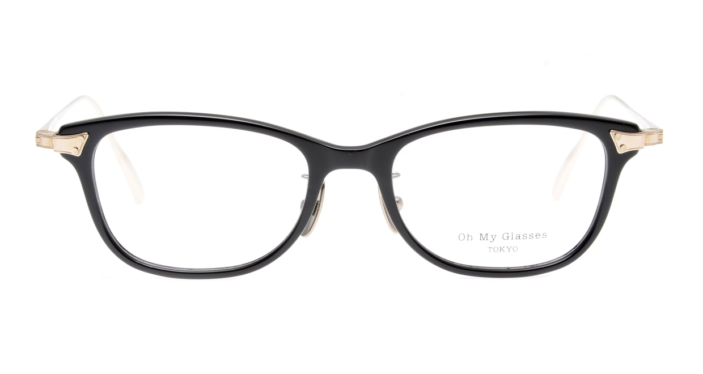 seem Oh My Glasses TOKYO Joan omg-095-1-14 [黒縁/鯖江産/ウェリントン]