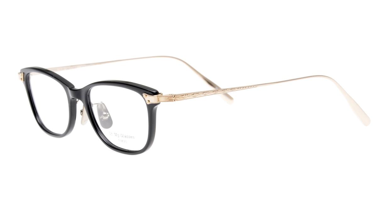 seem Oh My Glasses TOKYO Joan omg-095-1-14 [黒縁/鯖江産/ウェリントン]  1