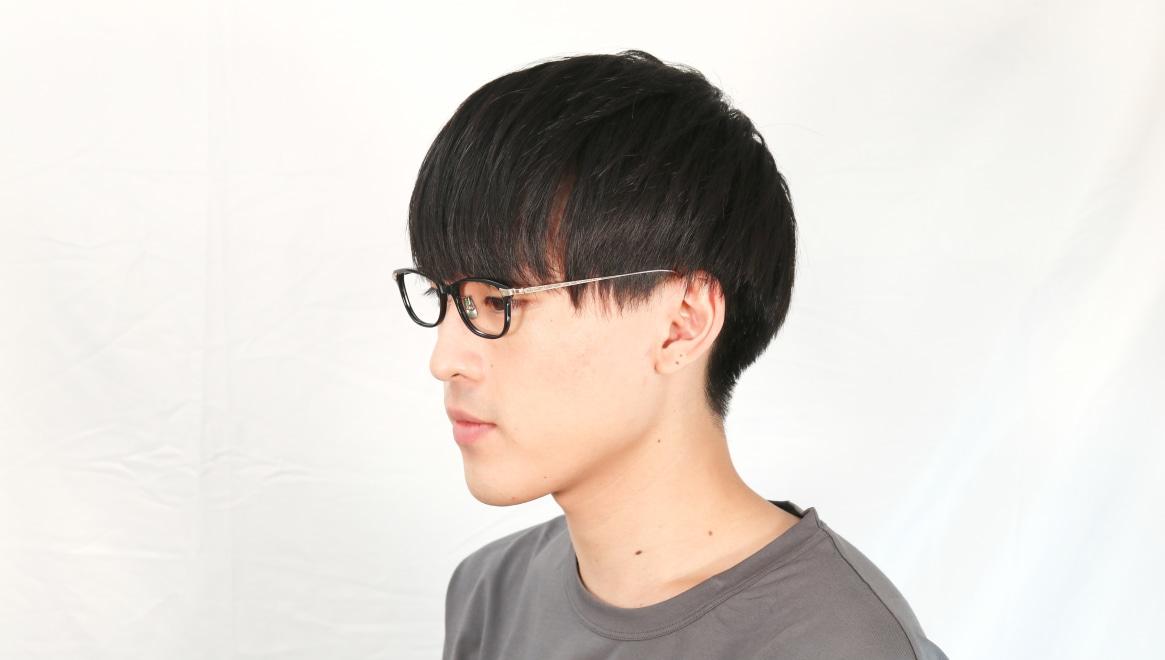 seem Oh My Glasses TOKYO Joan omg-095-1-14-47 [黒縁/鯖江産/ウェリントン]  5