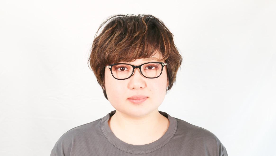 seem Oh My Glasses TOKYO Joan omg-095-1-14-47 [黒縁/鯖江産/ウェリントン]  6