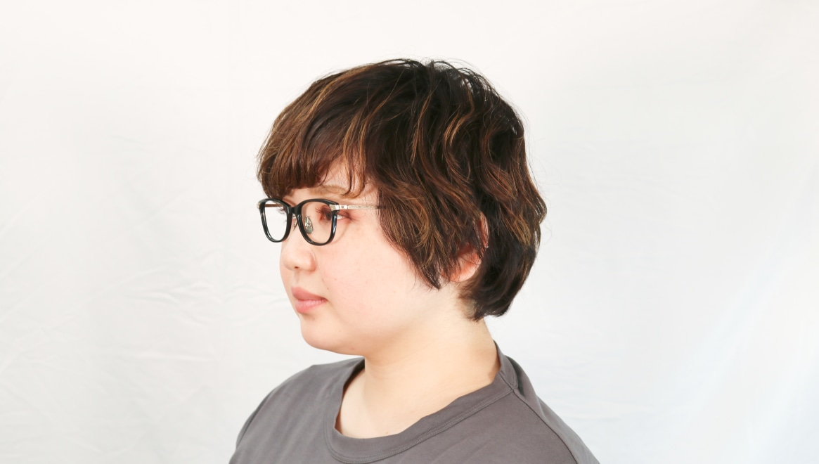 seem Oh My Glasses TOKYO Joan omg-095-1-14-47 [黒縁/鯖江産/ウェリントン]  7