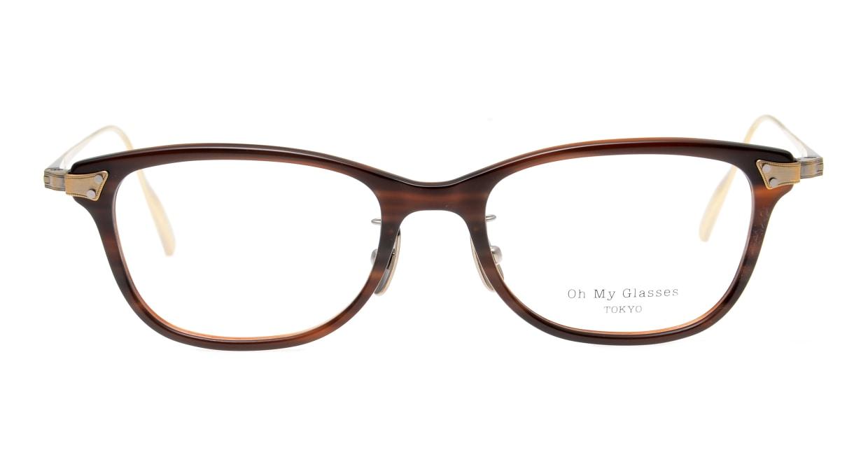 seem Oh My Glasses TOKYO Joan omg-095-17-14 [鯖江産/ウェリントン/茶色]