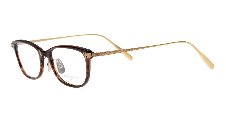 seem Oh My Glasses TOKYO Joan omg-095-17-14 [鯖江産/ウェリントン/茶色]  1