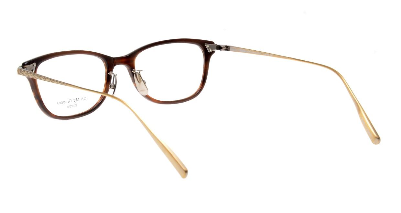 seem Oh My Glasses TOKYO Joan omg-095-17-14 [鯖江産/ウェリントン/茶色]  3