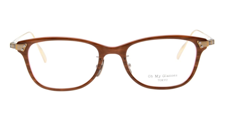 seem Oh My Glasses TOKYO Joan omg-095-55-12 [鯖江産/ウェリントン/茶色]
