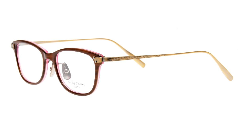 seem Oh My Glasses TOKYO Joan omg-095-55-12 [鯖江産/ウェリントン/茶色]  1