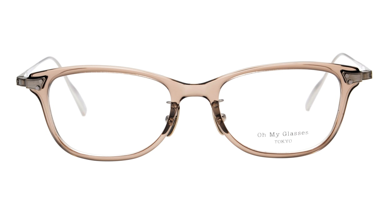seem Oh My Glasses TOKYO Joan omg-095-35-21 [鯖江産/ウェリントン/透明]