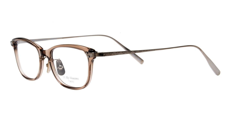 seem Oh My Glasses TOKYO Joan omg-095-35-21 [鯖江産/ウェリントン/透明]  1