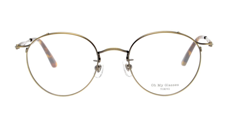 Oh My Glasses TOKYO Spencer II Antique Gold [メタル/鯖江産/丸メガネ/ゴールド]