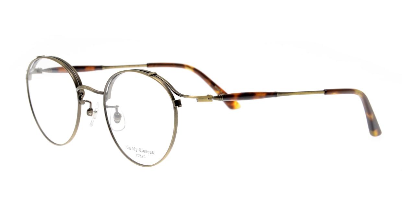 Oh My Glasses TOKYO Spencer II Antique Gold [メタル/鯖江産/丸メガネ/ゴールド]  1