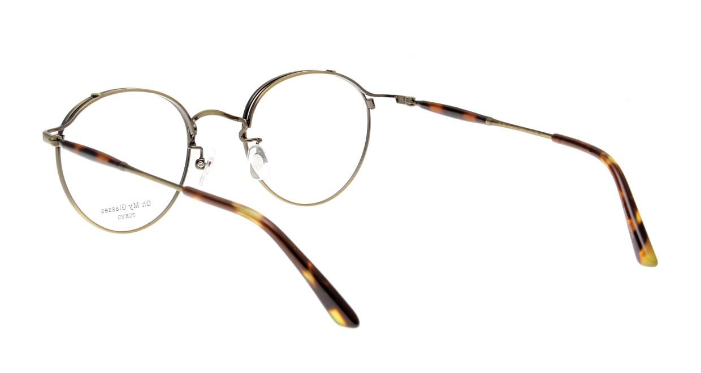 Oh My Glasses TOKYO Spencer II Antique Gold [メタル/鯖江産/丸メガネ/ゴールド]  3