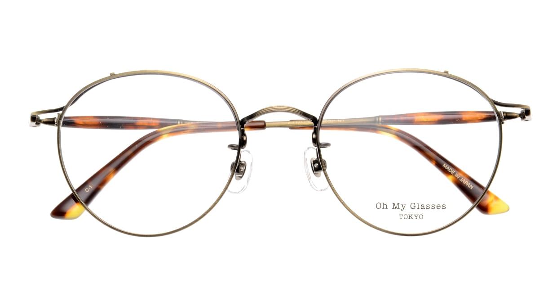 Oh My Glasses TOKYO Spencer II Antique Gold [メタル/鯖江産/丸メガネ/ゴールド]  4