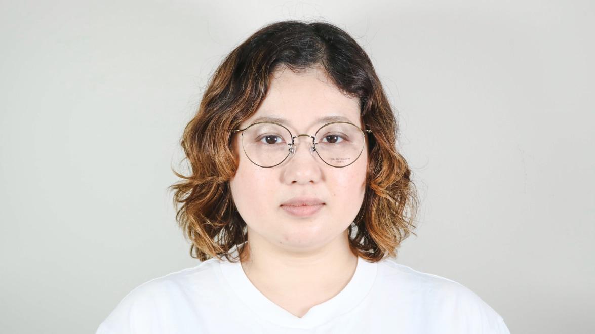 Oh My Glasses TOKYO Spencer II omg-096-1-50 [メタル/鯖江産/丸メガネ/ゴールド]  7