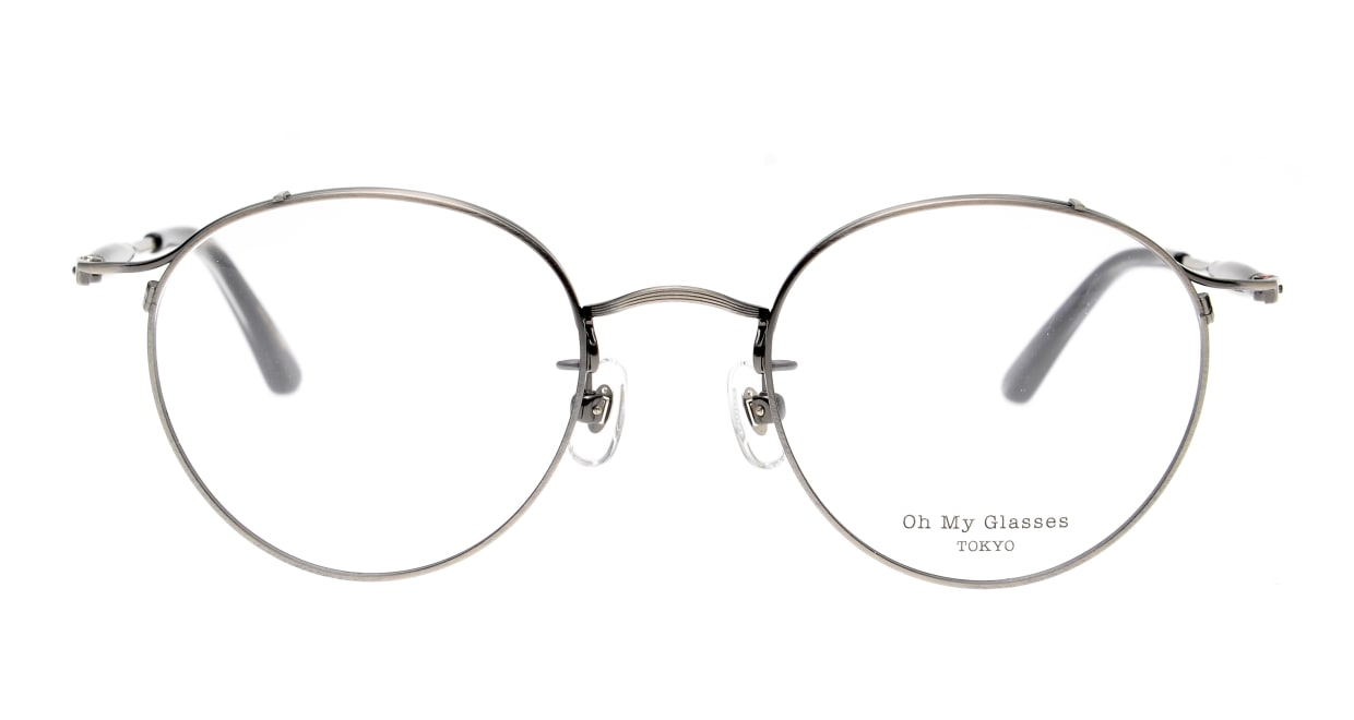 Oh My Glasses TOKYO Spencer II Antique Silver [メタル/鯖江産/丸メガネ/シルバー]
