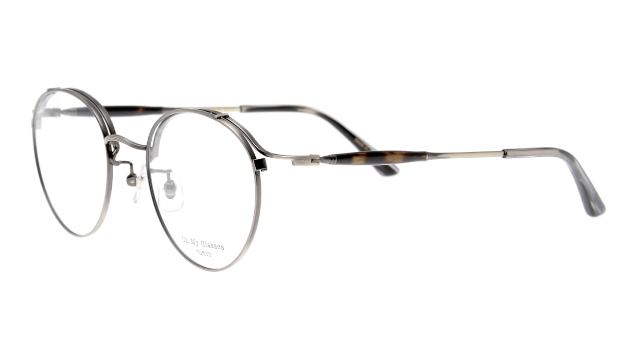 Oh My Glasses TOKYO Spencer II Antique Silver [メタル/鯖江産/丸メガネ/シルバー]  1