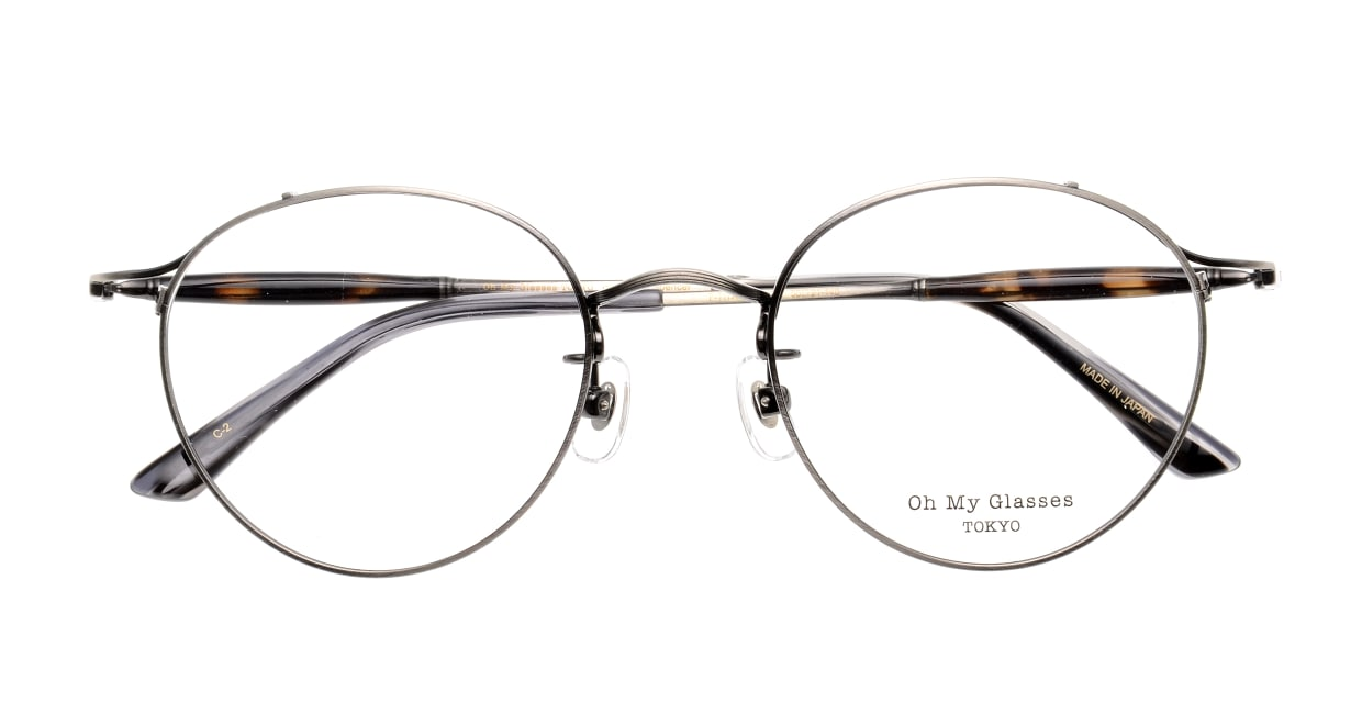 Oh My Glasses TOKYO Spencer II Antique Silver [メタル/鯖江産/丸メガネ/シルバー]  4