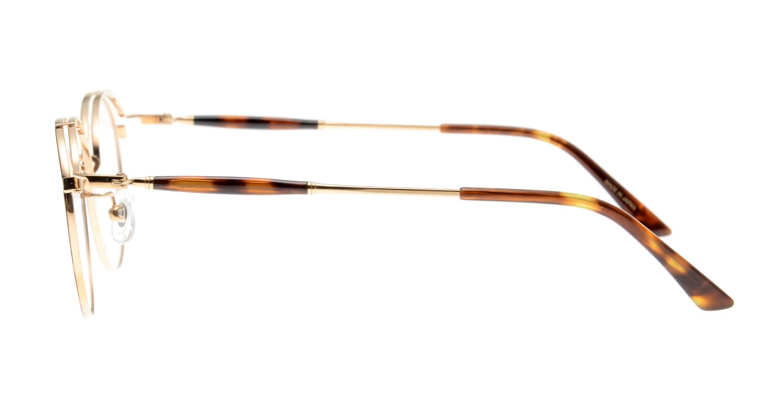 Oh My Glasses TOKYO Spencer II Brown Demi [メタル/鯖江産/丸メガネ/べっ甲柄]  2