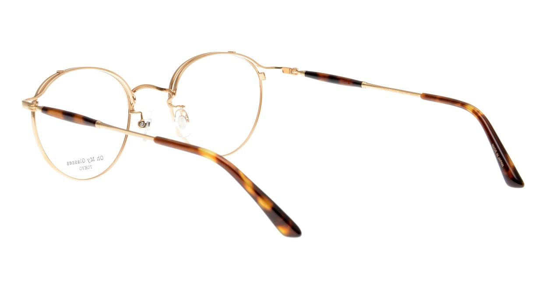 Oh My Glasses TOKYO Spencer II Brown Demi [メタル/鯖江産/丸メガネ/べっ甲柄]  3