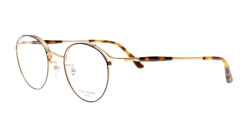 Oh My Glasses TOKYO Spencer II Black/Gold [メタル/鯖江産/丸メガネ]  1