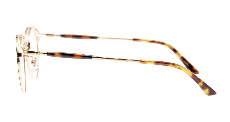 Oh My Glasses TOKYO Spencer II Black/Gold [メタル/鯖江産/丸メガネ]  2