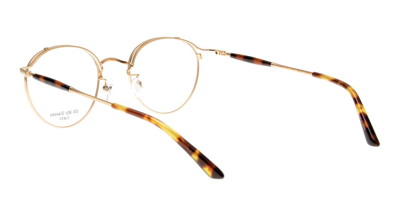 Oh My Glasses TOKYO Spencer II Black/Gold [メタル/鯖江産/丸メガネ]  3