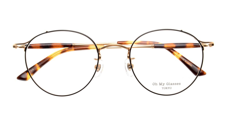 Oh My Glasses TOKYO Spencer II Black/Gold [メタル/鯖江産/丸メガネ]  4