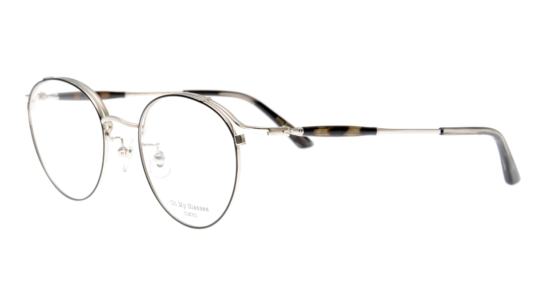Oh My Glasses TOKYO Spencer II Black/Silver [メタル/鯖江産/丸メガネ]  1