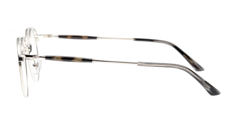 Oh My Glasses TOKYO Spencer II Black/Silver [メタル/鯖江産/丸メガネ]  2