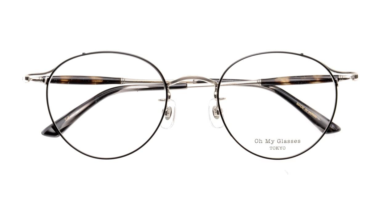 Oh My Glasses TOKYO Spencer II Black/Silver [メタル/鯖江産/丸メガネ]  4