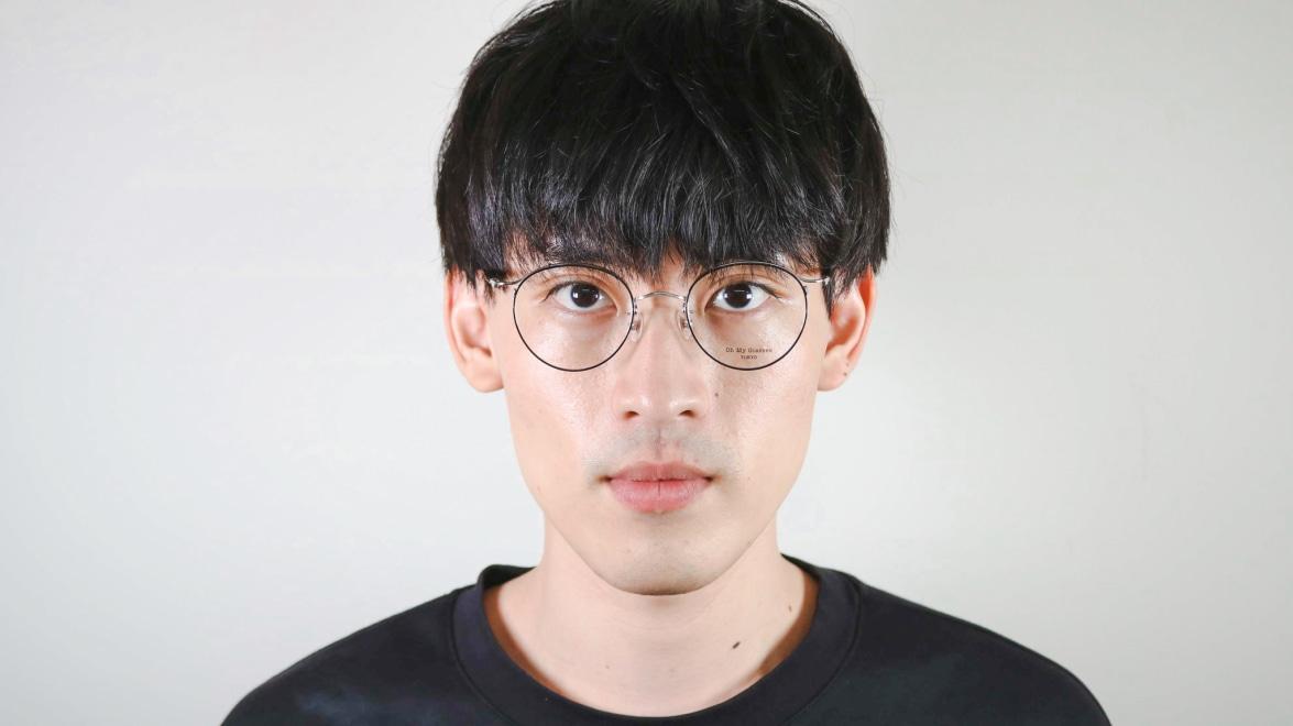 Oh My Glasses TOKYO Spencer II Black/Silver [メタル/鯖江産/丸メガネ]  5