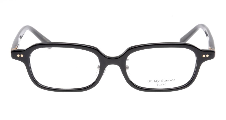 Oh My Glasses TOKYO Harris omg-097-71 [黒縁/鯖江産/スクエア]