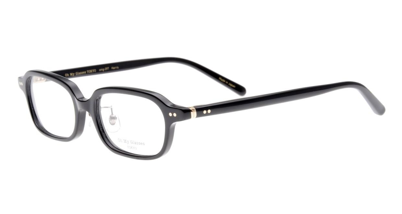 Oh My Glasses TOKYO Harris omg-097-71 [黒縁/鯖江産/スクエア]  1