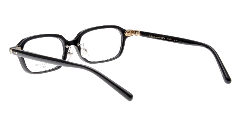 Oh My Glasses TOKYO Harris omg-097-71 [黒縁/鯖江産/スクエア]  3