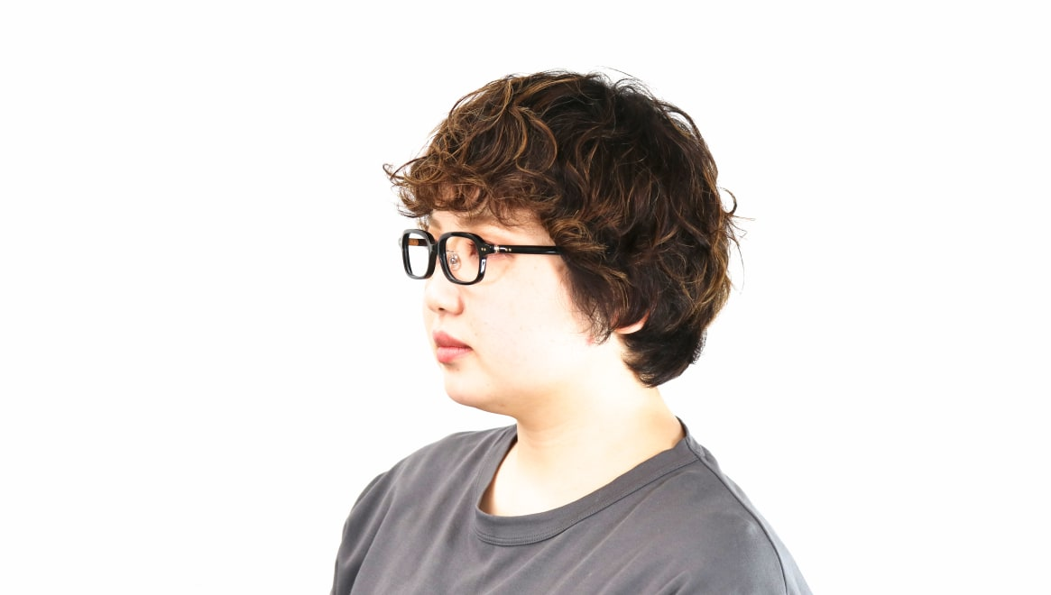 Oh My Glasses TOKYO Harris omg-097-71 [黒縁/鯖江産/スクエア]  7