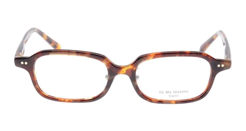 Oh My Glasses TOKYO Harris omg-097-73 [鯖江産/スクエア/べっ甲柄]