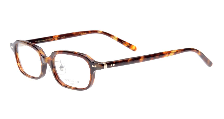 Oh My Glasses TOKYO Harris omg-097-73 [鯖江産/スクエア/べっ甲柄]  1