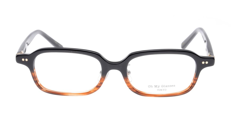 Oh My Glasses TOKYO Harris omg-097-76 [黒縁/鯖江産/スクエア]