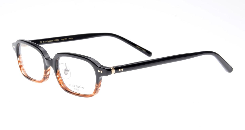 Oh My Glasses TOKYO Harris omg-097-76 [黒縁/鯖江産/スクエア]  1