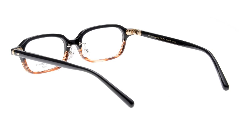 Oh My Glasses TOKYO Harris omg-097-76 [黒縁/鯖江産/スクエア]  3